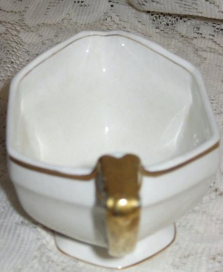 Creamer with Gold Detail-W.H. Grindley & Co. - England 1910