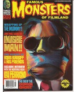 Famous Monsters Of Filmland #231 Invisible Man The Mummy Lou Ferrigno Hulk Ghost - $17.95