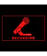 140033B Recording Microphone Production Music Public Studio Air LED Ligh... - $18.00