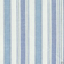 Longaberger Catch All Basket Large Vintage Ticking Blue Fabric OE Liner ... - $13.81