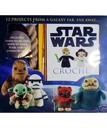 Star Wars Crochet Kit by Lucy Collin New Sealed Yoda Darth Vader Chewbac... - $19.99