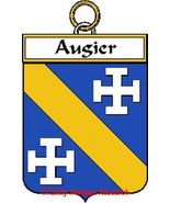 Augier French Coat of Arms Augier Family Crest - $25.00