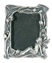 Pewter Fairy Square Picture Frame - $10.00