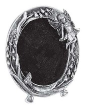Pewter Fairy Oval Picture Frame - $10.00