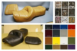 HONDA GL1200 Seat Cover GoldWing GL 1200 SADDLE LEATHER TAN or 25 COLOR OPTIONS - $89.95