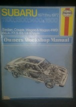 Haynes # 237 Subaru 1100, 1300, 1400, & 1600 Owners Workshop Manual 1971-1977 - $9.23