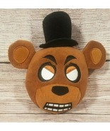 "Funko Mymoji Plush Five Nights at Freddy's Stuffed Freddy Head Brown 6"" ... - $9.69"