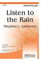 Listen to the Rain - $2.10