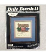Dale Burdett Cross Stitch Kit PITIFUL PALS CK312 New 1985 - $4.99