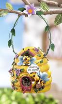 Bee Hive Birdhouse w/ Hanging Hook - $23.50