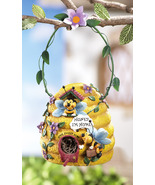 Bee Hive Birdhouse w/ Hanging Hook - $21.95