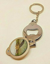 Sea Turtle Key Chain Nail Clipper Bottle Opener Combo Three in One Gift - $8.50