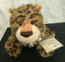 "Ganz Leopard Plush Toy 14"" Nose to Tail HM031 Tag Attached - $11.39"