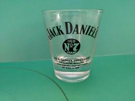 Jack Daniels Old No 7 Shot Glass Jack Daniels Distillery New - $7.56