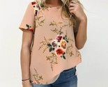 2018 women zanzea summer blouse o neck short sleeve loose boho floral print party thumb155 crop
