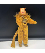 TOY TIME WIZARD OF OZ DOLL 1981 VINTAGE figure Cowardly Lion courage bad... - $63.36