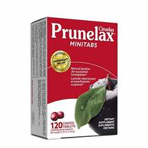 Prunelax Ciruelax Natural Laxative Regular Mini Tablets, Plums, 120 Count