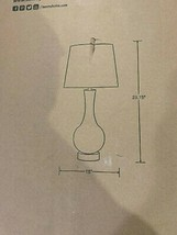 Kenroy Home Decanter 29 in. Glass Table Lamp 32255CLR - $59.95
