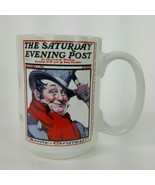 Norman Rockwell Saturday Evening Post Coffee Mug Cup Christmas Collectio... - $13.09