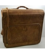 I) Vintage Verdi Brown Luggage Suitcase Carrier Clothing Hanger Bag - £47.77 GBP