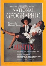 National Geographic  June 1990  Deep in the Heart of Texas - $3.99