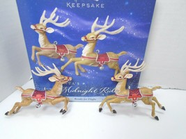 """Hallmark Keepsake Santa's Midnight Ride """"Ready For Flight"""" Christmas Orn... - $46.74"""