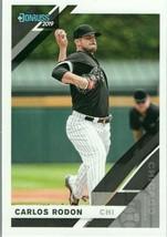 #142 Carlos Rodon Chicago 2019 Panini Donruss MLB Baseball Card AAG - $2.02