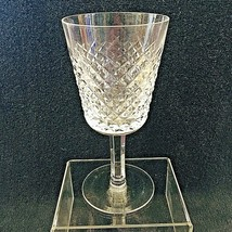 "Older Waterford Crystal Alana Water Goblet Glass Excellent Shape 6 3/4"" - $64.35"
