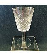 "Older Waterford Crystal Alana Water Goblet Glass Excellent Shape 6 3/4"" - $64.35"