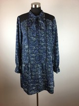 Cynthia Steffe Womens Emily Shirt Dress 10 Multi Color Blue Long Sleeve ... - $590,23 MXN