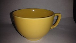 "Fiesta Yellow Coffee Cup 2 1/2"" - $12.50"