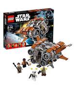 Year 2017 Legos Star Wars Series Set 75178 - Jakku QUADJUMPER with Rey, ... - $84.99
