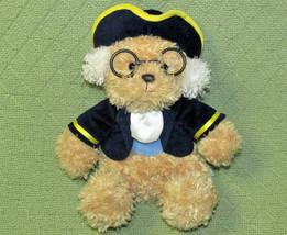 "AURORA 10"" BEN FRANKLIN TEDDY BEAR PLUSH STUFFED ANIMAL COLONIAL CHARACT... - $14.85"