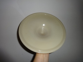 FIRE KING Ivory Philbe lid for casserole dish ANCHOR HOCKING - $7.00