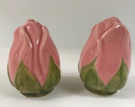 Franciscan DESERT ROSE SALT & PEPPER SHAKER SET MADE IN ENGLAND  - $24.70
