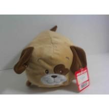 "Hug & Luv Plush Brown Puppy Laying Down 5""x9"" - $15.52"