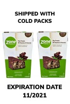 Zone Perfect Nutrition Bar Chocolate Mint 2 Boxes Of 12 bars Shipped W C... - $36.57