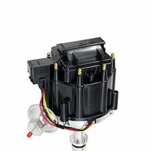 Small Block Buick HEI Distributor SBB Black Cap 65K VOLT COIL 215 340 350 image 2