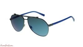 Dolce Gabbana Men Sunglasses DG2189 0196 Black/Dark Gray Lens 61mm - $202.73