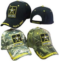 GODS ARMY CHRISTIAN HAT BASEBALL CAP Great way to share your faith - $10.95