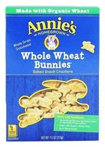 Annie's - Bunnies All-Natural Baked Snack Crackers Whole Wheat - 7.5 oz.... - $17.81