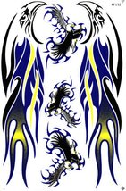 D124 Eagle Wing Bird Sticker Decal Racing Tuning Size 27x18 cm / 10x7 inch - $3.49