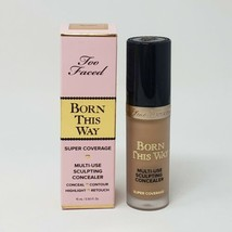 New Too Faced Born This Way Super Coverage Multi-Use Concealer Golden - $20.57