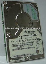 630MB IDE 44pin 2.5IN 12.7mm Drive Seagate ST9630A Tested Good Our Drives Work
