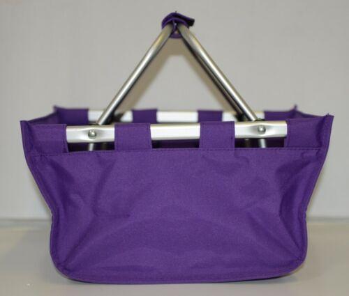 WB Brand Marketminipur Mini Purple Market Tote Padded Handle