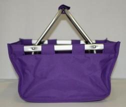 WB Brand Marketminipur Mini Purple Market Tote Padded Handle image 1