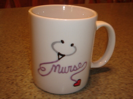 Personalized Ceramic Mug Nurse Theme - $12.50