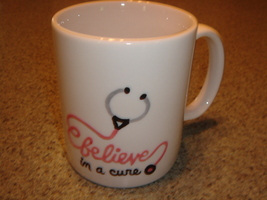 Personalized Ceramic Mug  Nurse BELIEVE - $12.50