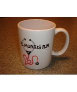 Personalized Ceramic Mug Nurse Theme  - $12.50