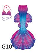 2021 Amazing Big Mermaid Tail for Kids Women NO Monofin Mermaid Costume ... - $169.99
